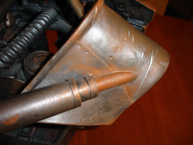 restauration d'un LIFE-SIZE bust T-600 , de chez sideshow . Dsc02026
