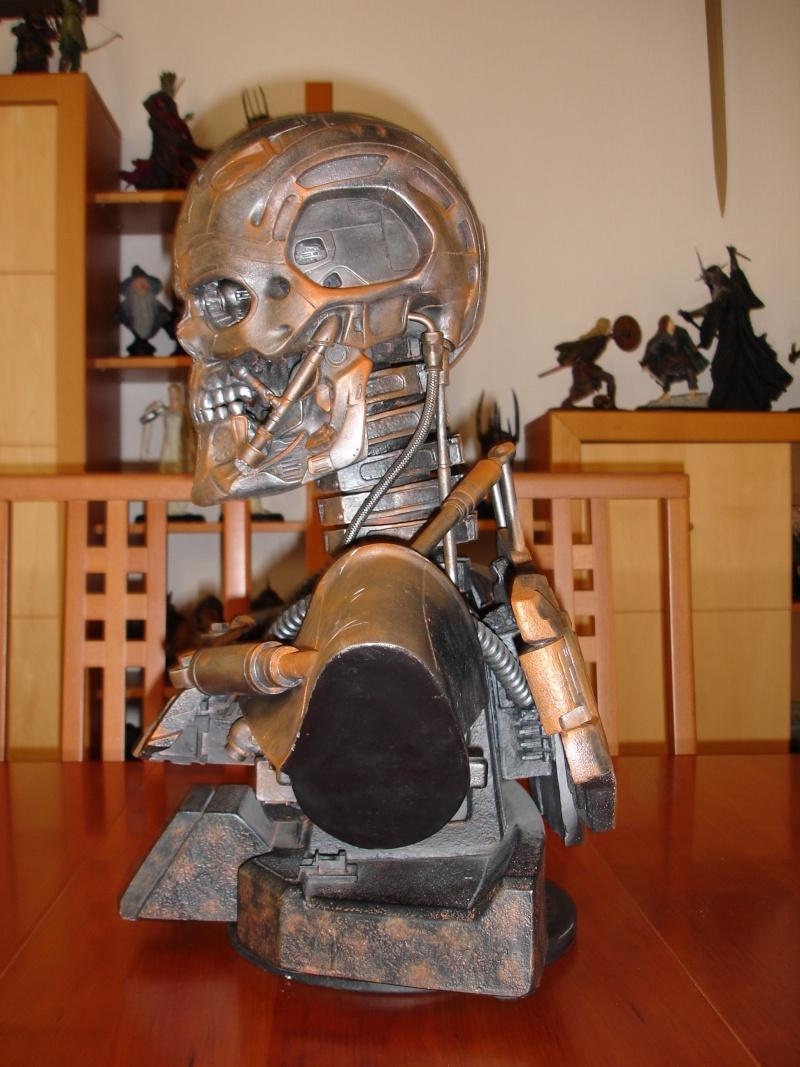 restauration d'un LIFE-SIZE bust T-600 , de chez sideshow . Dsc02029