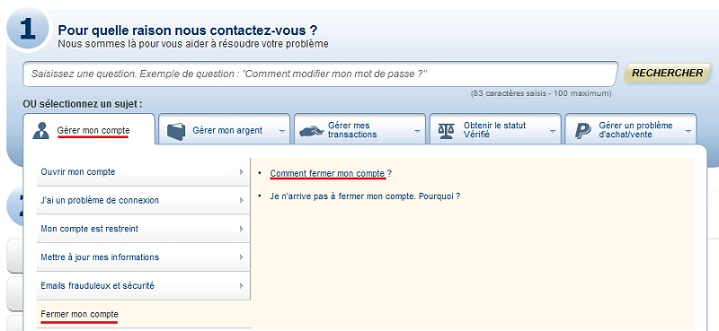 01 - Comment fermer son compte Paypal ? Ppclos10