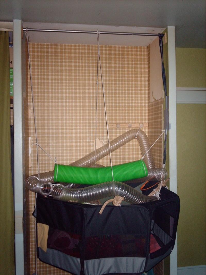 Enclos en nylon reconverti en aire de jeu ( photos ) - Page 5 Imag0911