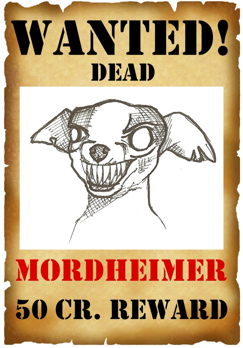 Deathsquads Wanted Posters projects Mordhe10