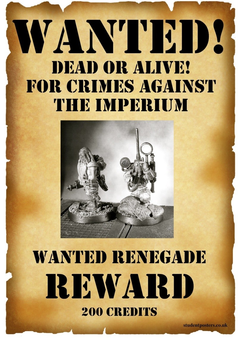 Deathsquads Wanted Posters projects Renega12