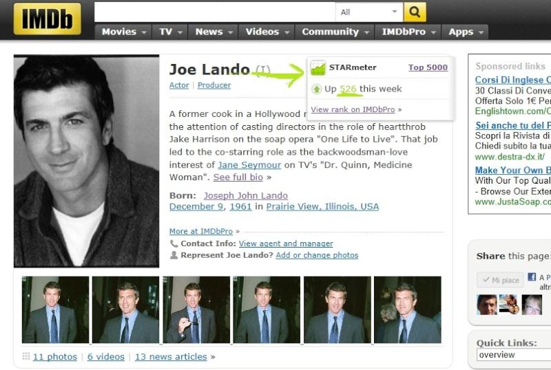 Fiche IMDb de Joe Imdb311
