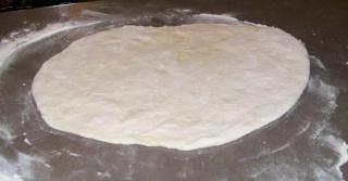 Pâte a Pizza de Cousky à la MAP 0811