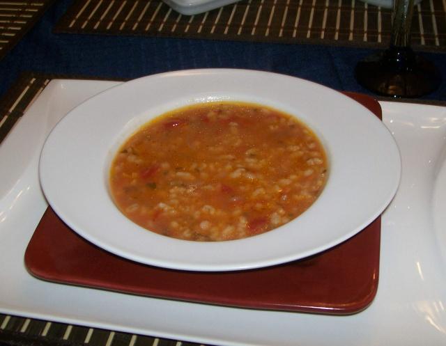 Soupe au Barley ( Orge ) Barley11