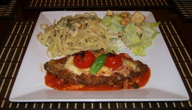 escalope de veau parmigiana Mario510