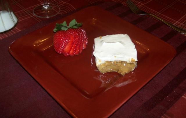 Gâteau frigidaire ( Biscuit Graham ) Photo120