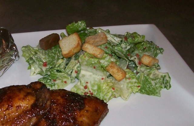 Salade César à ma façon Salade10