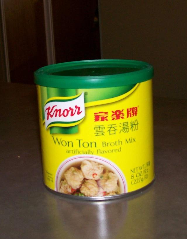 Soupe Won Ton au poulet Won10