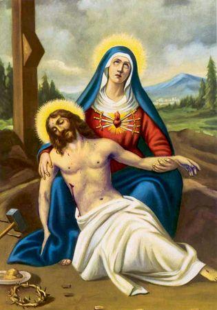 Etre conscients des douleurs endurées par la Sainte Vierge. 38347110