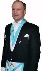 Anders Behring Breivik, le tueur norvégien franc-maçon, un émule d'Albert Pike ? Anders10