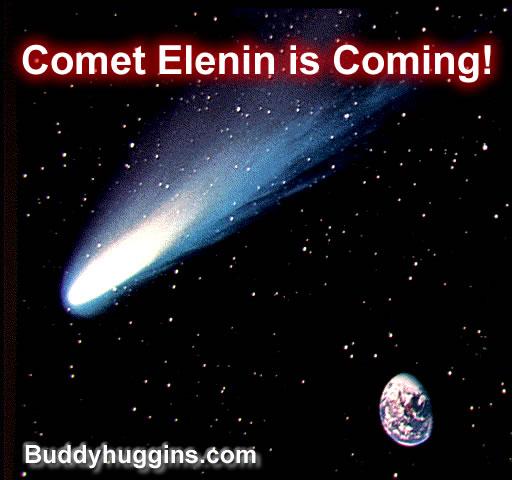 La comète Elenin aurait une masse de 10 à 20 fois plus grande que celle de la Terre ! Comet_10