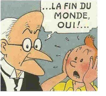 Même Tintin nous avertit de l'arrivée de la comête de l'Avertissement et du Châtiment ! Dessin10