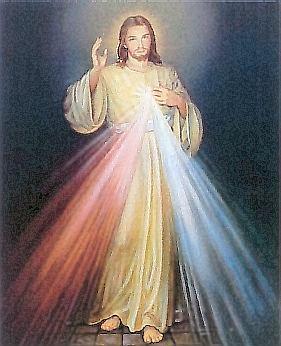 """""""Remettez en honneur un tableau de Jésus Miséricordieux,"""" nous demande Jésus ! Iconem10"""