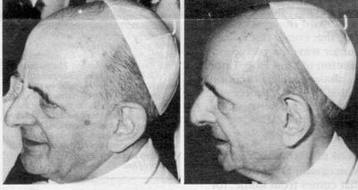 À propos de Paul VI - Serait-il toujours en vie ? Impost10