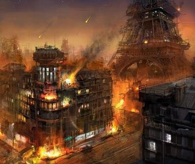 New York et ses envirions étaient complètement submergés! Sci-fi10