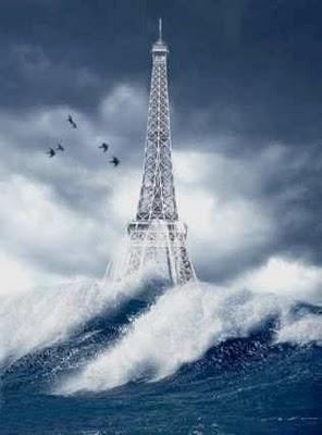 New York et ses envirions étaient complètement submergés! Tour2010