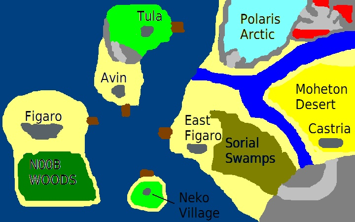 A World Map World_10