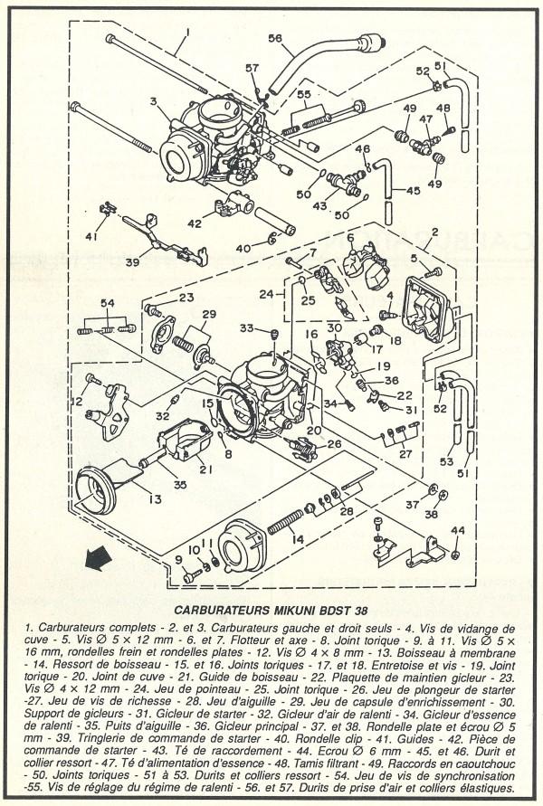 branchement des durites du carbu Carbur12