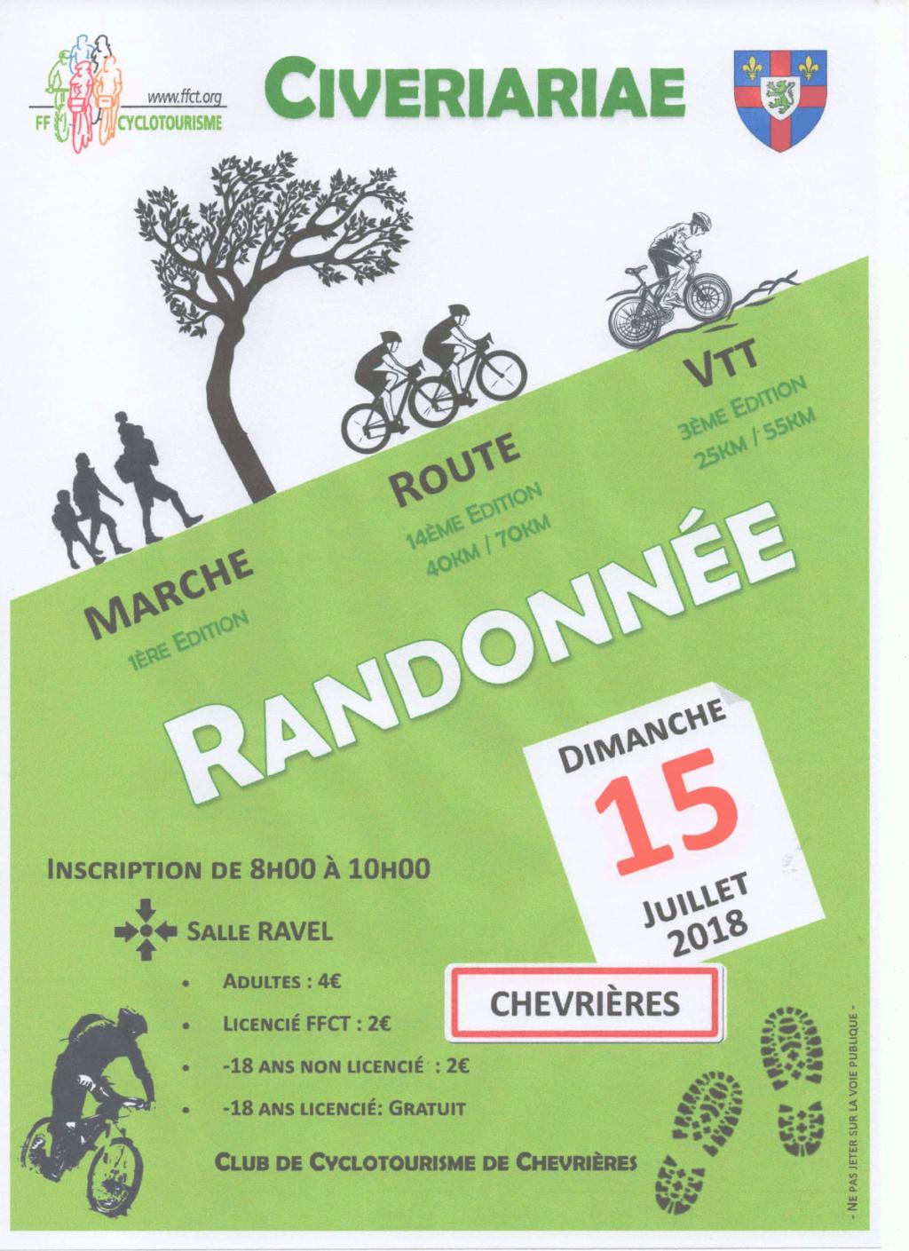 """(60) rando à Chevrières """"la Civreriariae"""" le 15 juillet 2018 36176210"""