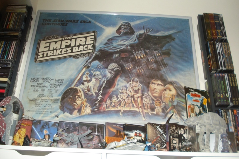 Does anybody collect or own any Original Vintage Star Wars One Sheets / Quads (Movie Posters) ? Dsc01521