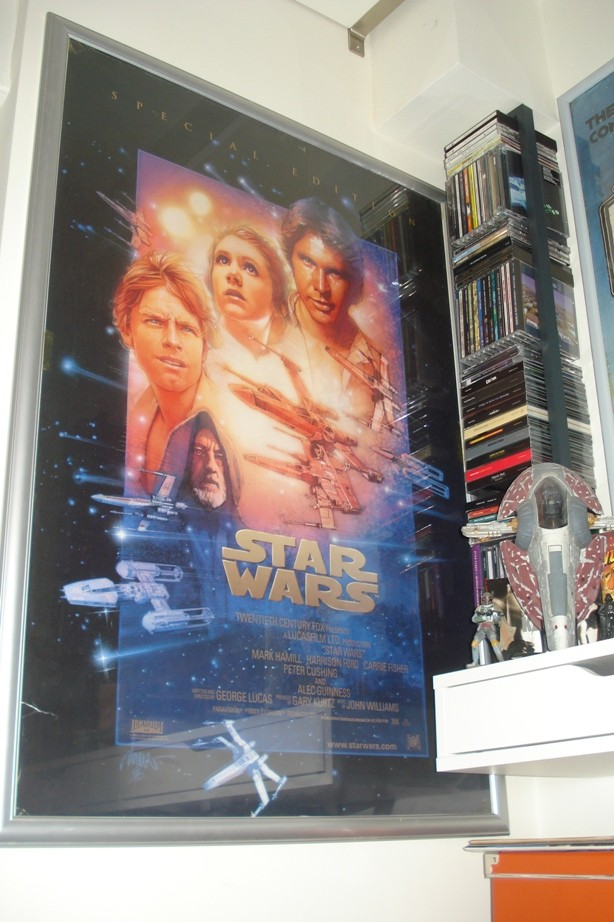 Does anybody collect or own any Original Vintage Star Wars One Sheets / Quads (Movie Posters) ? Dsc01522