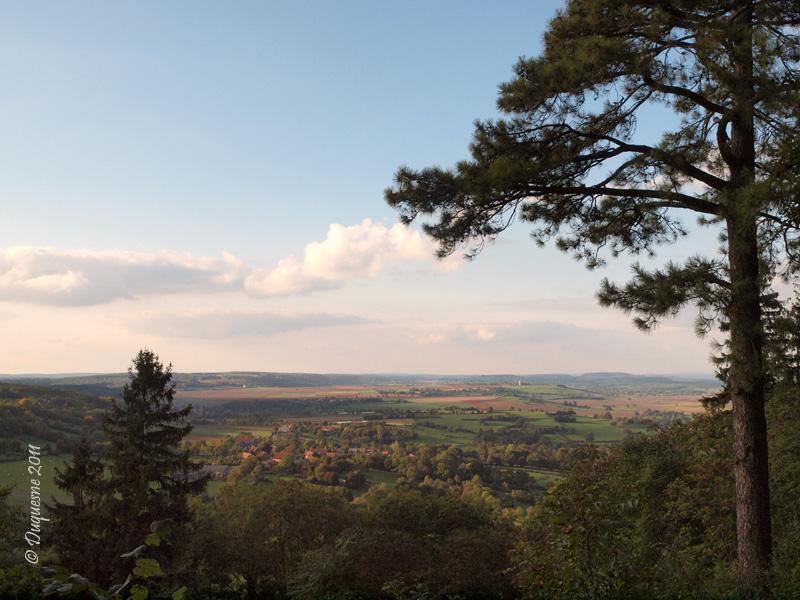 La butte de Montenoison (Nièvre) P9228011