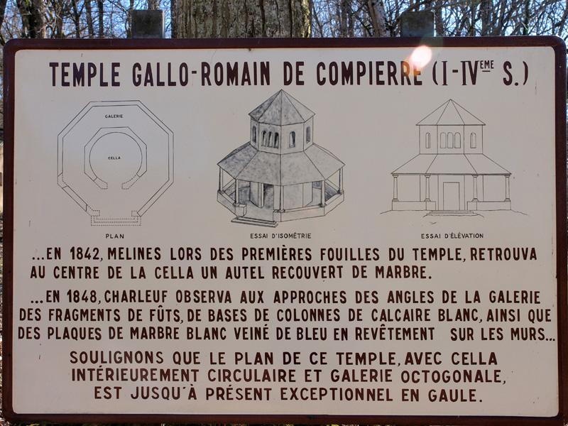 Compierre : Site Gallo-Romain Temple11