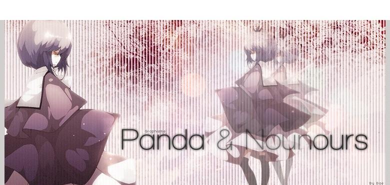 Panda & Nounours ♥