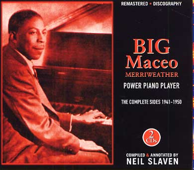 Big MACEO - Power piano player complete sides 1941-1950  07880611