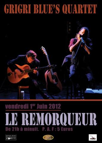GRI GRI BLUE' s Quartet le 1er juin 2012 à Nantes 61482410