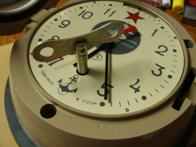 Horloge des Sous-Marins Russe et Soviétique  Photo_65