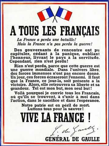 Anniversaire de l'appel du 18 Juin 1940 du Général de Gaulle 60090912
