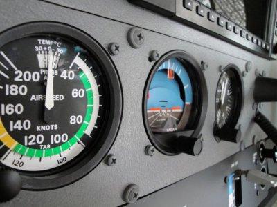 RobinDR-400 jsbSim 120cv Cadran10