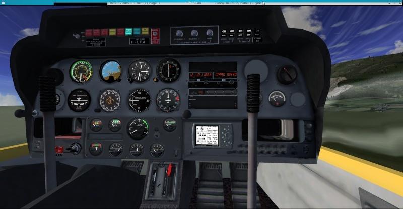 Le DR400 et son GPS Captu217