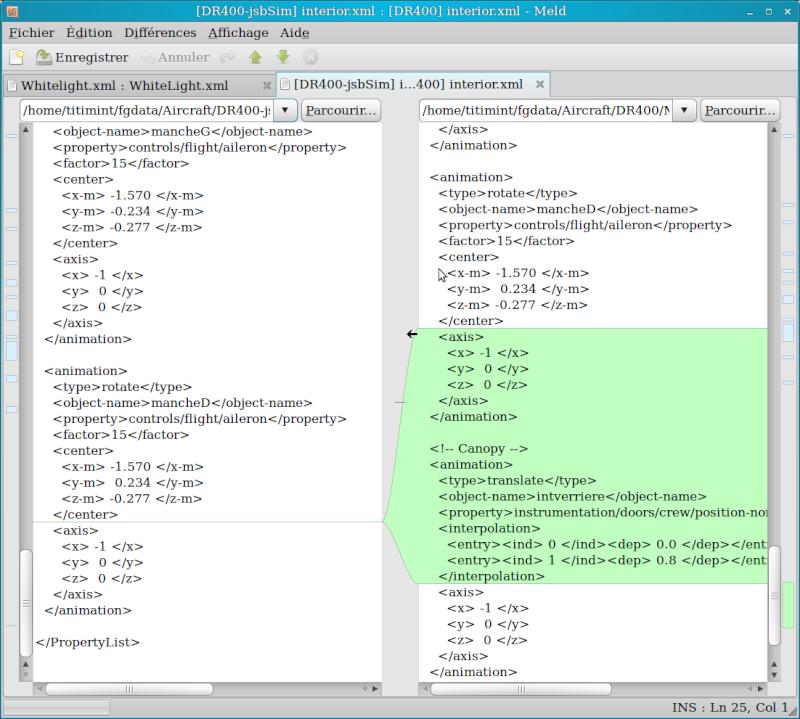 Comparer des fichiers Captur53