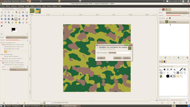 Créer une livrée camouflage toute simple avec Gimp Nom_du10