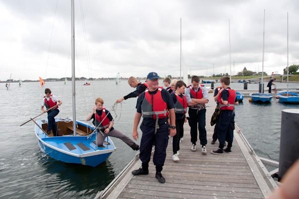 Le camp nautique ORKA 2011 se déroule à la Base de la Marine Kadett10