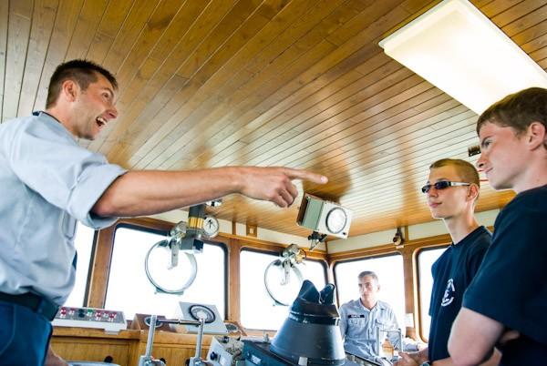 Le camp nautique ORKA 2011 se déroule à la Base de la Marine Marine11