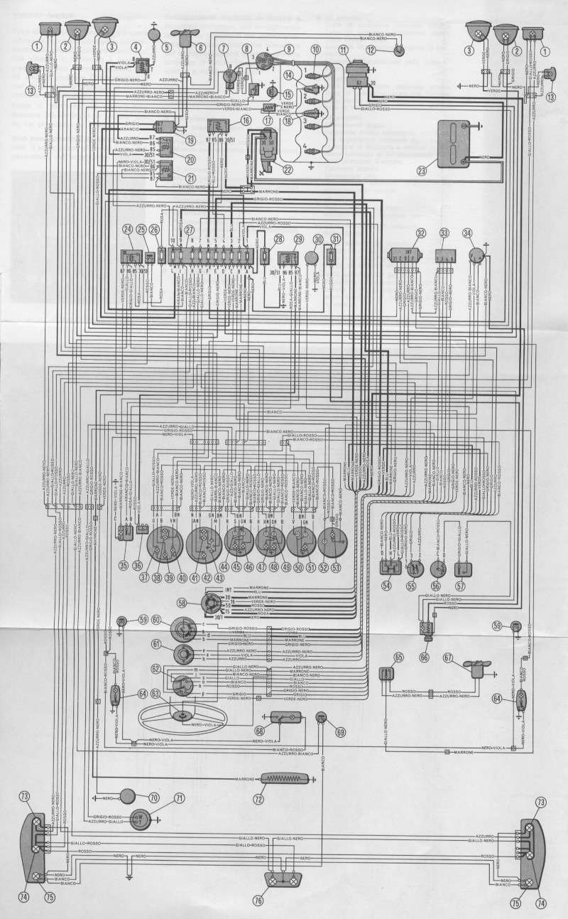 Schema Elettrico : Schema impianto elettrico sport coupè