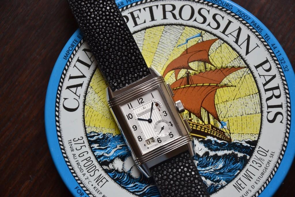 Reverso Grande GMT sur galuchat caviar Dsc_0522