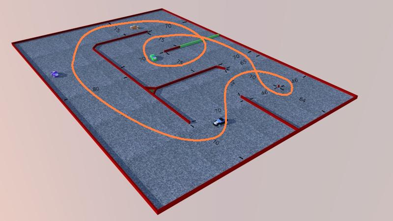 Mon projet de piste démontable Circui13