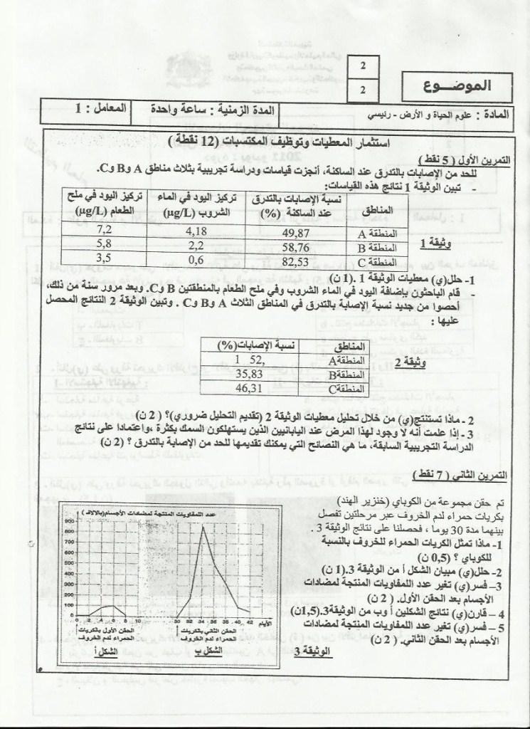 لامتحان الجهوي الموحد في علوم الحياة والأرض لنيل شهادة السلك الاعدادي يونيو 2011  (جهة سوس ماسة ) Sn_1_210