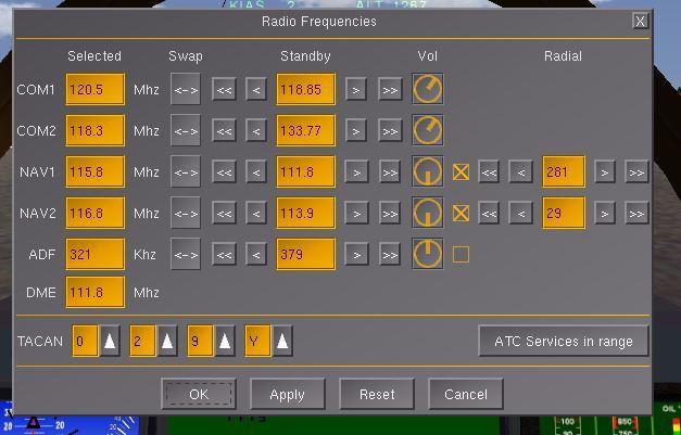 Radio-settings Captur10