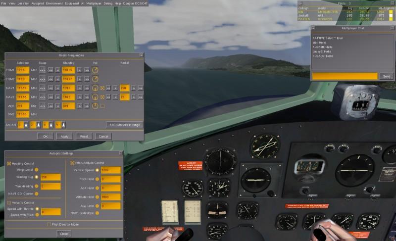 Vol IFR en DC3 Fgfs-s34