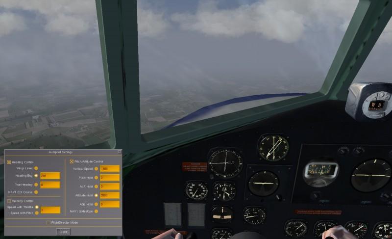 Vol IFR en DC3 Fgfs-s38