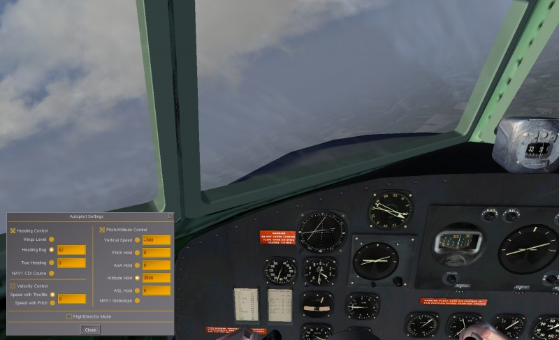 Vol IFR en DC3 Fgfs-s39