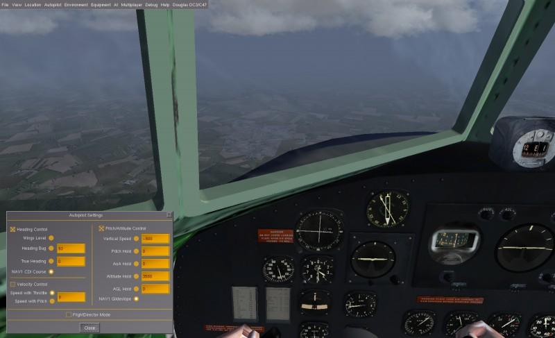 Vol IFR en DC3 Fgfs-s40