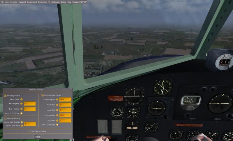 Vol IFR en DC3 Fgfs-s42