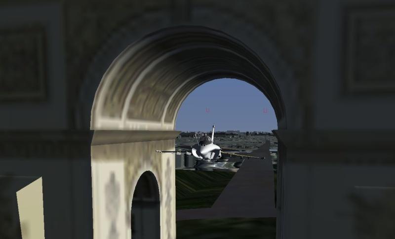 Cap10b sous l'arc de triomphe Rafale10